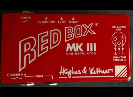 Hughes & Kettner Red Box MK III