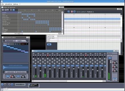 Hydrogen Music Hydrogen v0.9.0