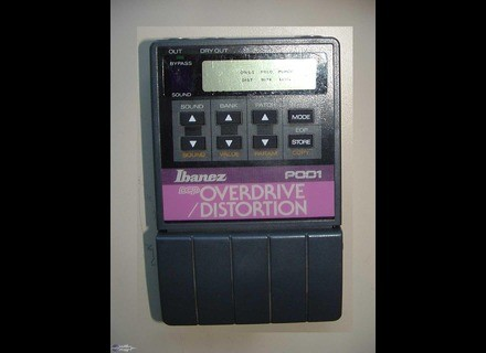 Ibanez POD-1 Dcp Overdrive/Distortion