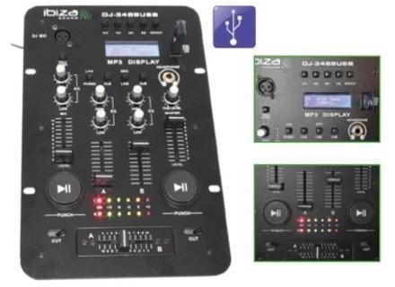 Ibiza Sound DJ-3488USB