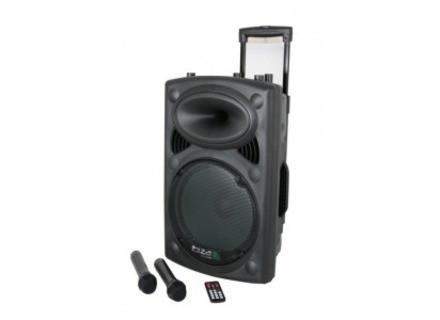 Ibiza Sound IBIZA PORT12VHF USB-MP3 & 2 MICROS VHF