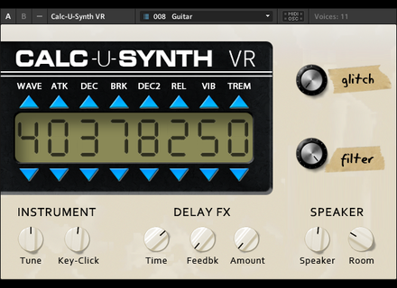 Icebreaker Audio Calc-U-Synth VR