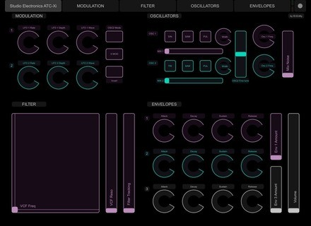 ID-Entity Touch OS Layout for Studio Electronics ATC-X(i)