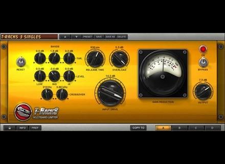 IK Multimedia Classic T-Racks Multiband Limiter
