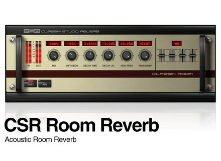 IK Multimedia CSR Room Reverb