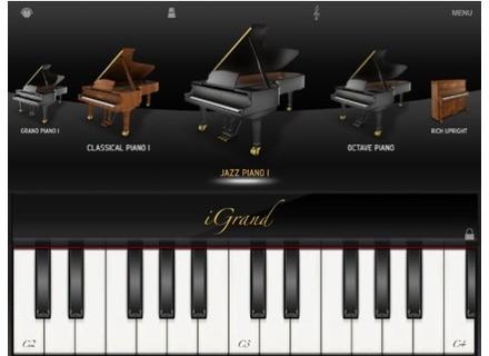 IK Multimedia iGrand Piano Free