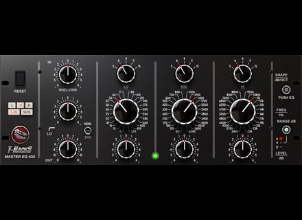 IK Multimedia T-Racks Master EQ 432