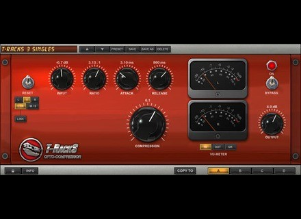 IK Multimedia T-Racks Opto Compressor