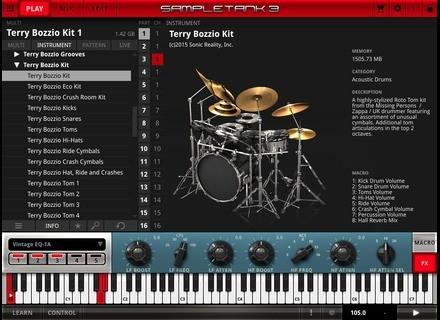 IK Multimedia Terry Bozzio Drums