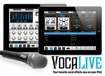 IK Multimedia VocaLive for iPad