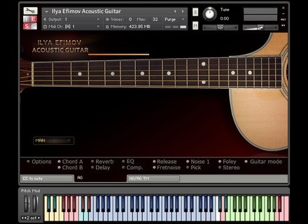 Ilya Efimov Sound Production Acoustic Guitar