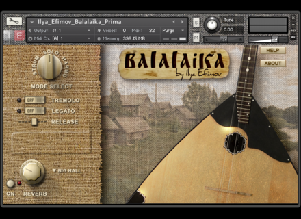 Ilya Efimov Sound Production Balalaika