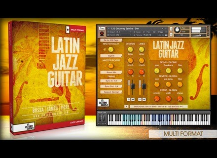 In Session Audio Latin Jazz Guitar