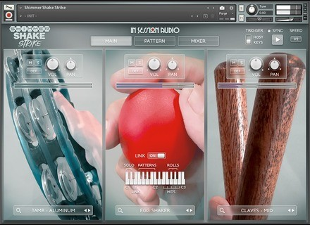 In Session Audio Shimmer Shake Strike