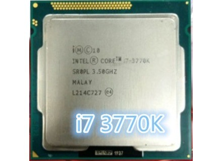 Intel Core i7 3770K 3,5 GHz