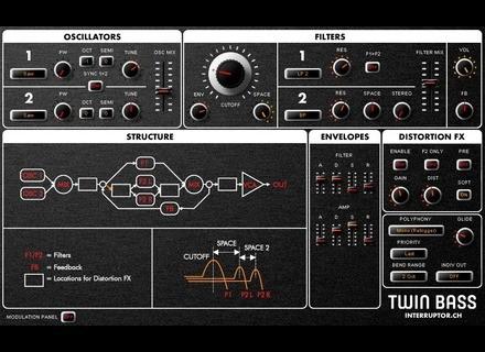 Interruptor Twin Bass