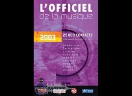 Irma Officiel De La Musique 2003