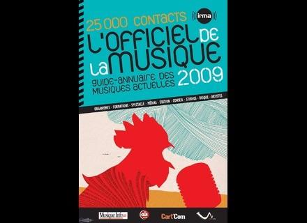 Irma Officiel de la Musique 2009