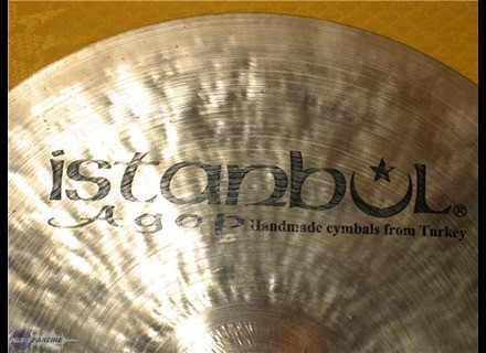 Istanbul Agop Traditional Paper Thin Crash 17""