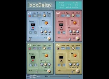 Ixox IxoxDelay [Freeware]