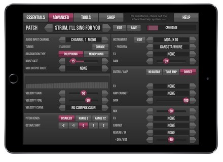 JamOrigin MIDI Guitar 2 App