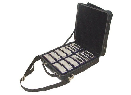 Johnson Guitars BK-520-SET Blues King Harmonica Set