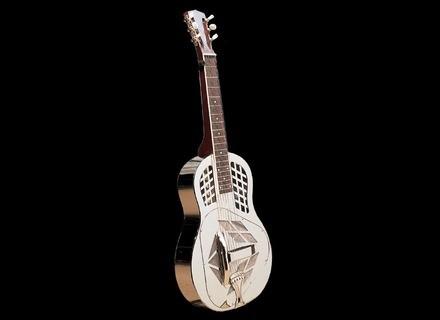Johnson Guitars Resonator Tricone Manche Carré