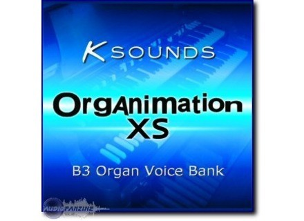 K-Sounds Organimation XS B3 Library