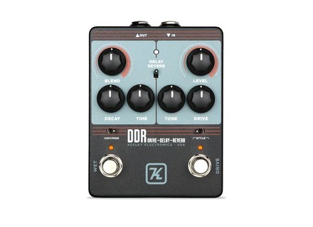 Keeley Electronics DDR - Drive Delay Reverb