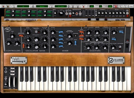 Kid Nepro Arturia Minimoog V Collection
