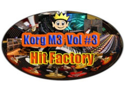 Kid Nepro Hit Factory Collection Vol. 3 For Korg M3