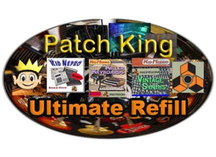 Kid Nepro Patch King Ultimate Reason Refill