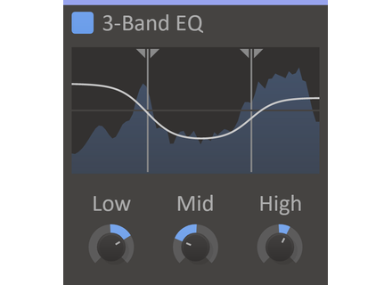 kiloHearts kHs 3-Band EQ