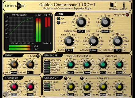 Kjaerhus Audio Golden Compressor GCO-1