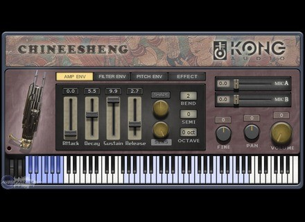 Kong Audio ChineeSheng: The Mouth Organ of Concord