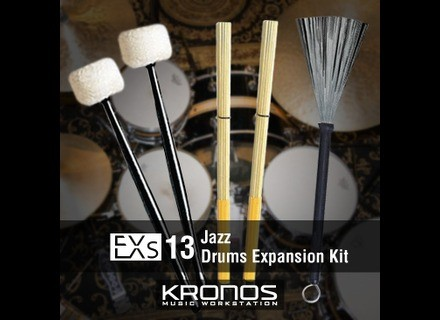 Korg EXs13 Jazz Drums Expansion Kit