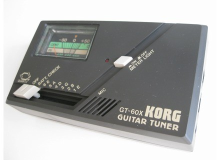Korg GT-60X Guitar Tuner