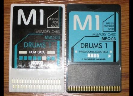 Korg MSC-3S DRUMS 1
