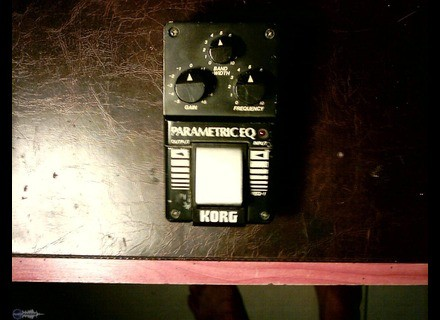 Korg PEQ-1 Paramatric EQ