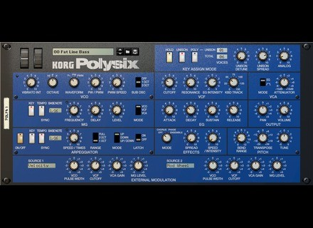 Korg Polysix for Reason