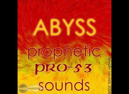 Kreativ Sounds ABYSS PRO-53 Sounds