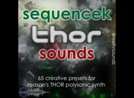 Kreativ Sounds SequenceK THOR Sounds [Donationware]