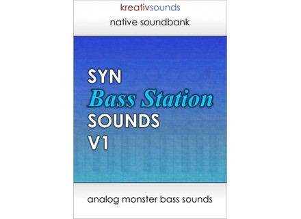 Kreativ Sounds SYN Bass Station Sounds