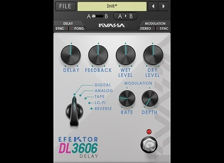 Kuassa Efektor DL3606 Delay