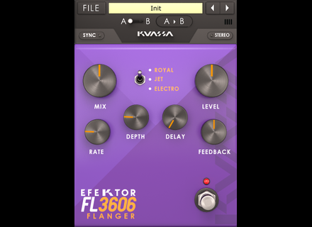 Kuassa Efektor FL3606 Flanger