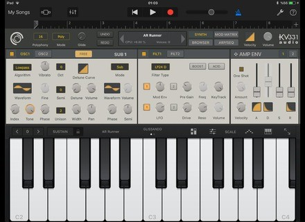 KV331 Audio SynthMaster One App