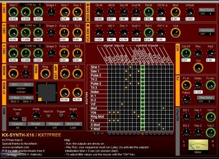 KX77FREE KX-Synth-X16 [Freeware]