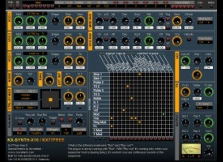 KX77FREE KX-Synth-X16 v3 [Freeware]