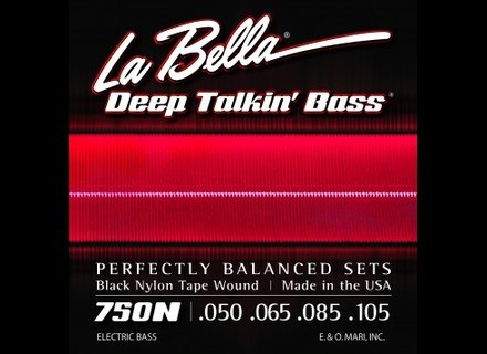 La Bella Black Nylon Tape