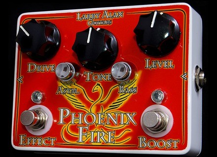 Larry Alan Guitars Phoenix Fire